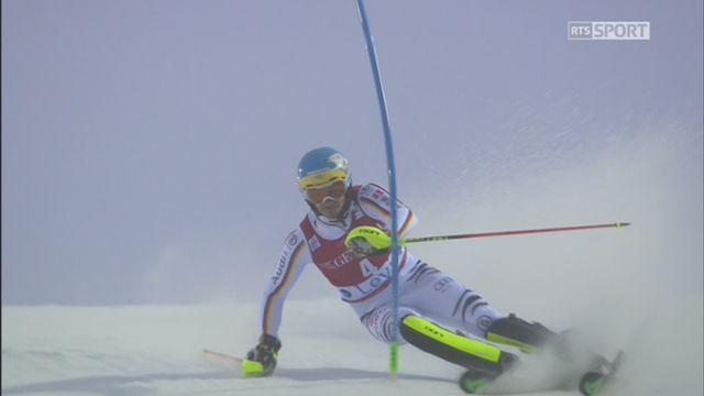 Levi (FIN), slalom 2e manche: Neureuther (ALL) remporte le premier slalom de la saison devant  Kristoffersen (NOR) et Hargin (SUE) [RTS]