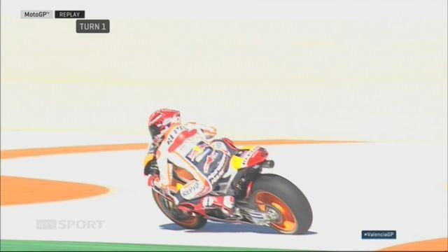 Moto GP, GP de Valence: Pedrosa (ESP) vainqueur et Marquez (ESP) champion du monde [RTS]
