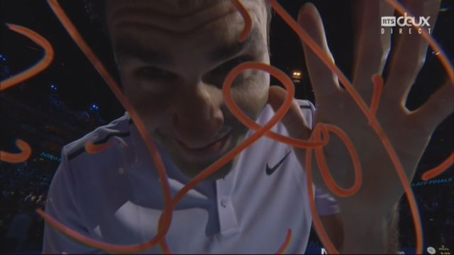 Groupe B, Federer (SUI) bat Sock (USA) 6-4 7-6, tie-break 7-4 [RTS]