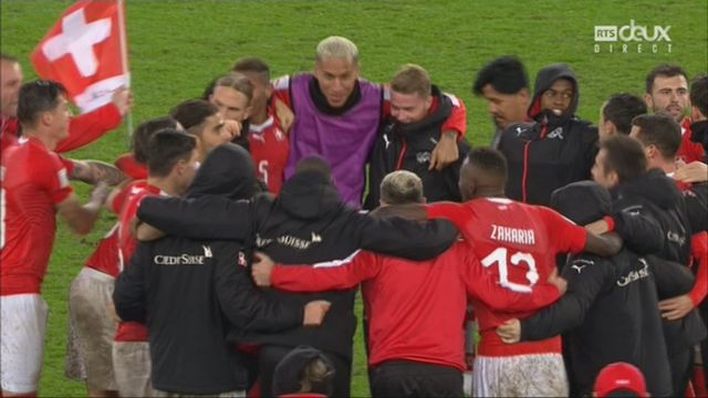 Barrages, Suisse - Irlande du Nord 0-0: l'arbitre siffle la fin du match et la Suisse est qualifiée ! [RTS]