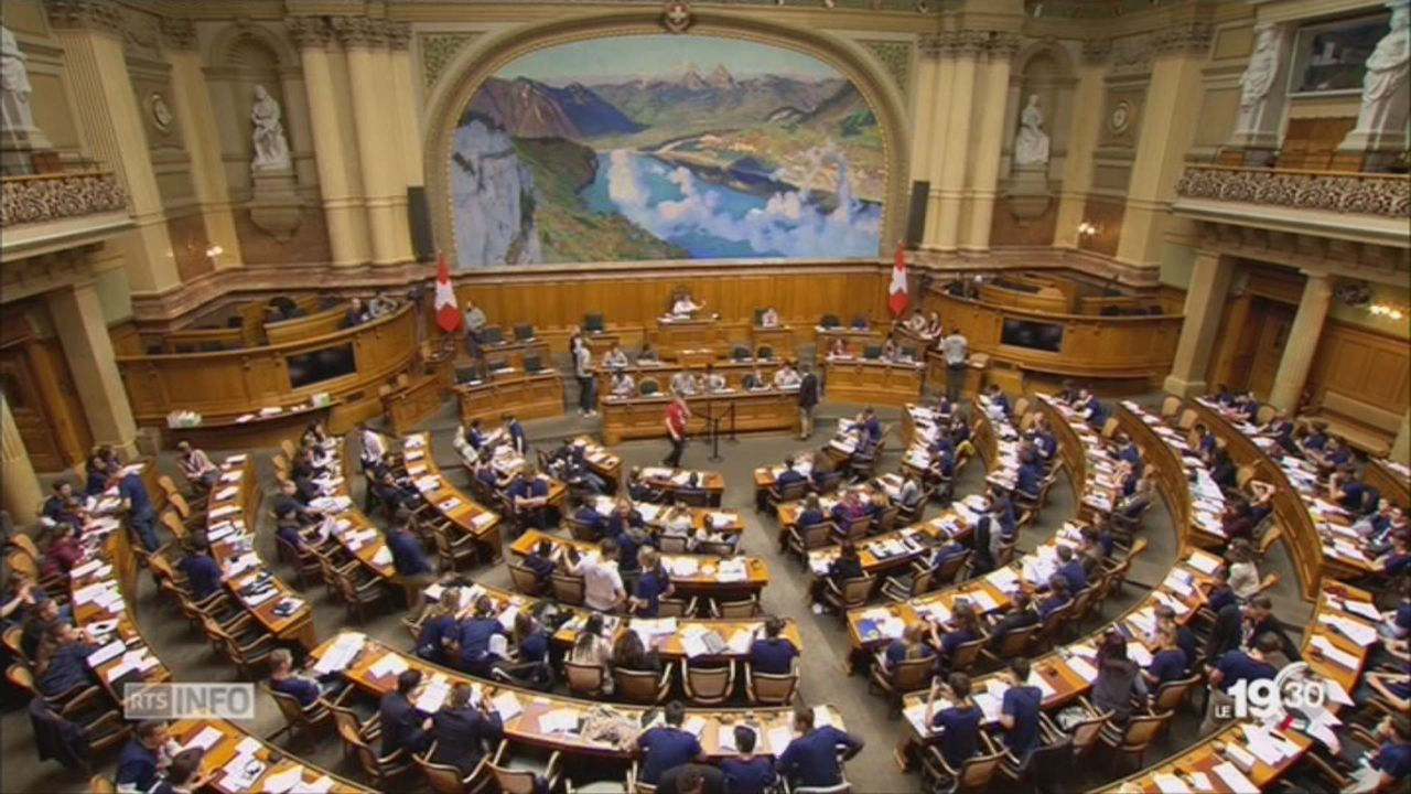 La Session des jeunes s'est terminée après des heures de débat [RTS]