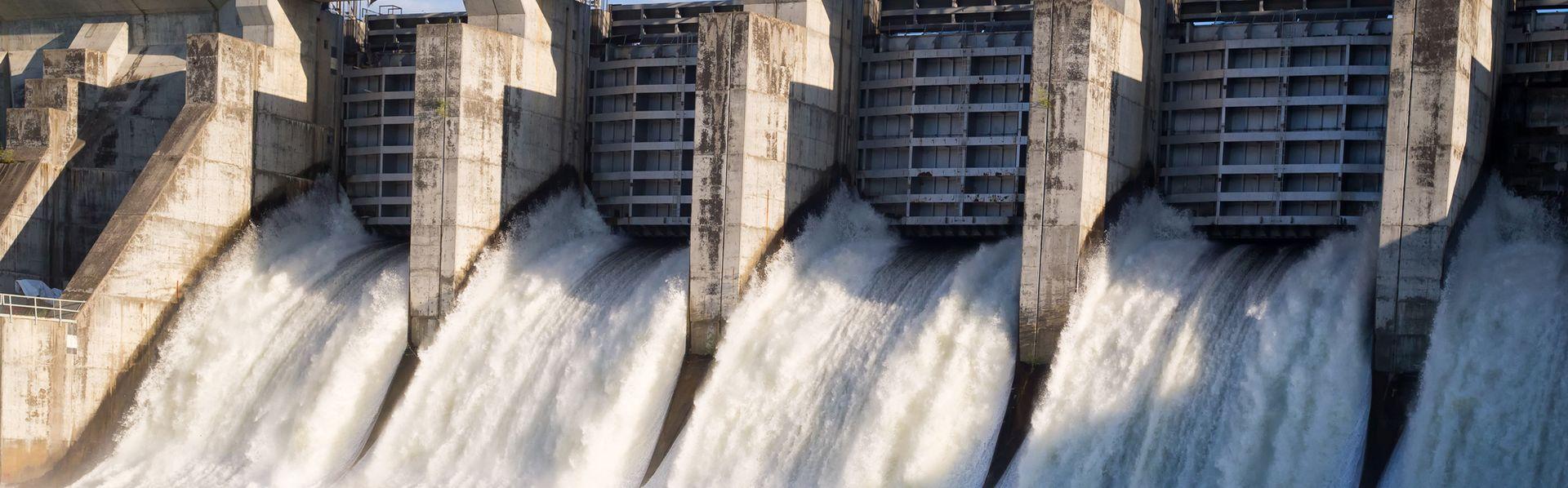 Barrage d'une centrale hydraulique. [kat7213 - Fotolia]
