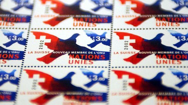 Le dossier sur la Suisse et l'ONU de RTS Découverte [Martial Trezzini - Keystone]