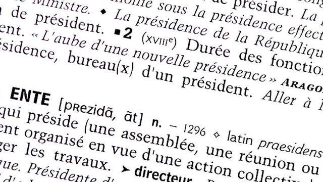 Le dossier sur la présidence de RTS Découverte [Nathalie Hof - © RTS Découverte]