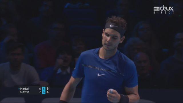Groupe Sampras, R. Nadal (ESP) - D. Goffin (BEL) 6-7 7-6 [RTS]