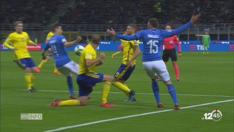 Football: l'Italie manque la qualification à la Coupe du monde [RTS]