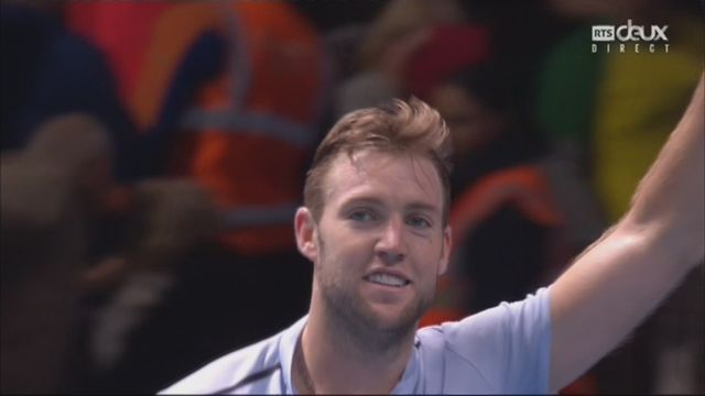 Groupe Becker, Jack Sock (USA) bat Marin Cilic (CRO) 5-7 6-2 7-6 [RTS]