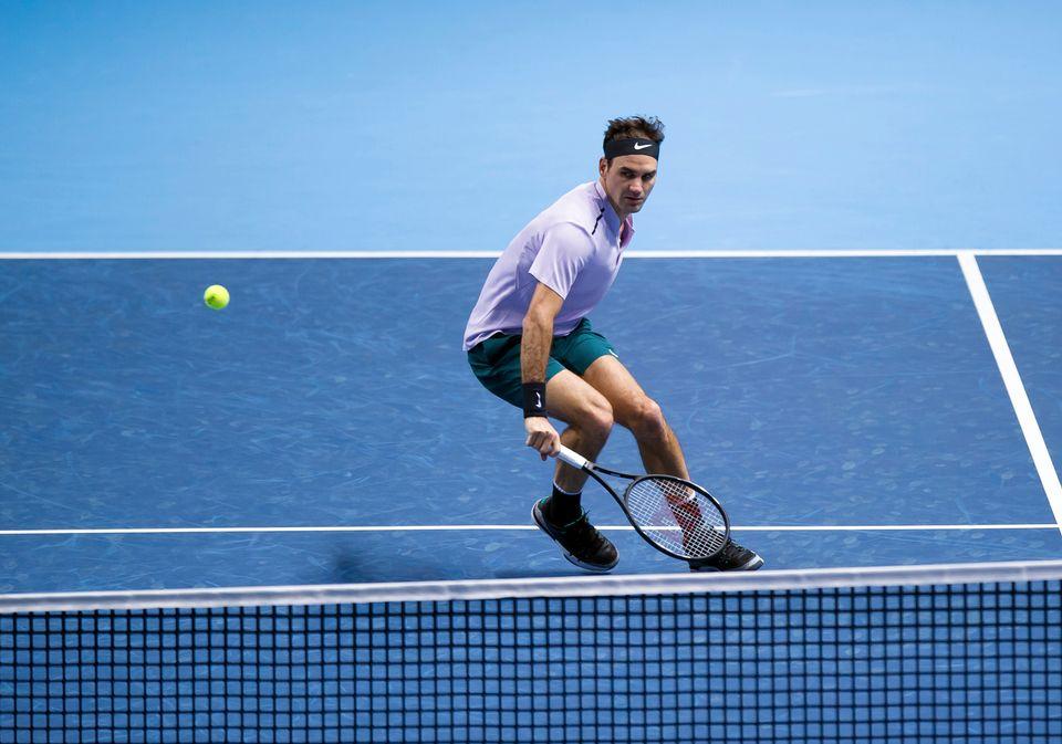 Roger Federer obtient son billet pour le dernier carré avant même le dernier match du groupe. [Keystone]