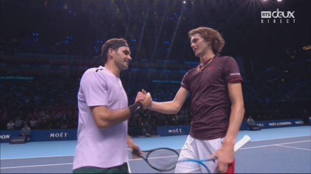 Groupe Becker, Roger Federer (SUI) - Alexander Zverev (GER) 7-6 5-7 6-1 [RTS]