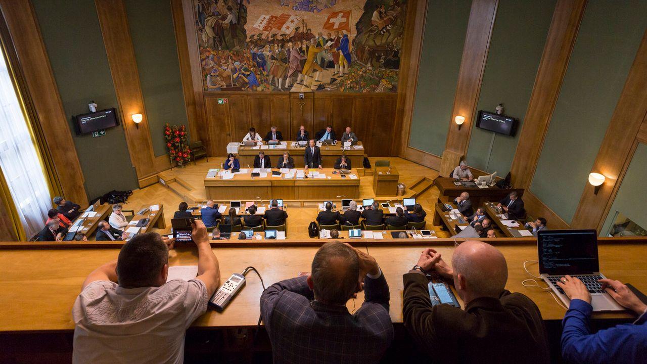 Le législatif valaisan soutient la refonte totale de la constitution cantonale. [Dominic Steinmann - Keystone]