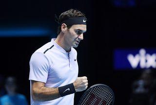 Sans être flamboyant, Federer a assuré l'essentiel contre Cilic. [Andy Rain - Keystone]