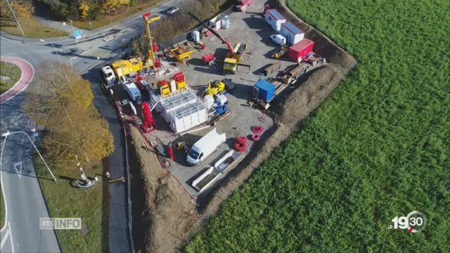 Géothermie: la Suisse romande avance avec plusieurs projets [RTS]