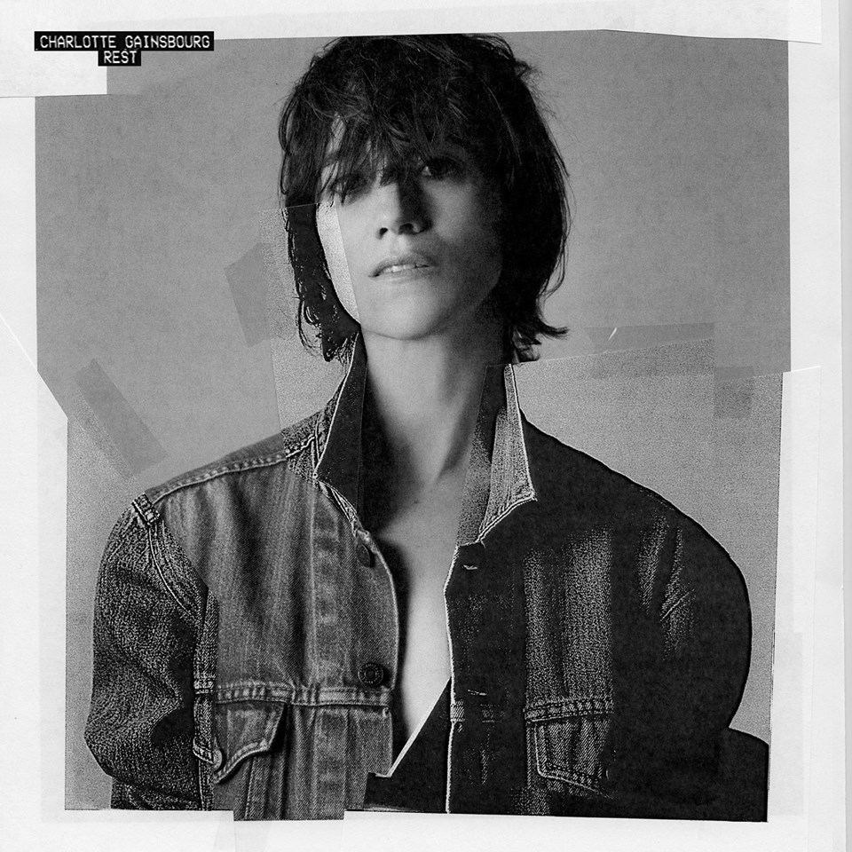 "La cover de l'album ""Rest"" de Charlotte Gainsbourg."