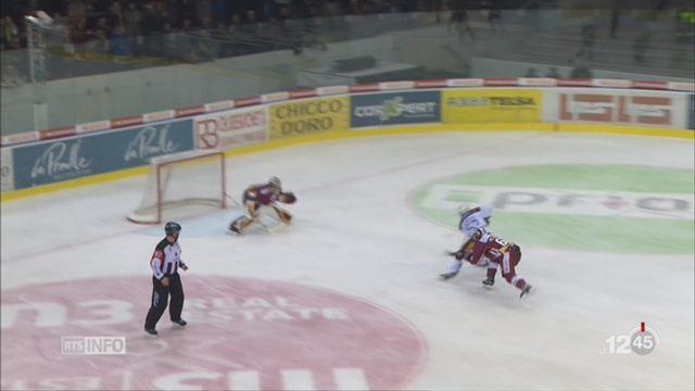 Hockey: Genève-Servette s'est incliné 3 à 0 contre Zoug [RTS]