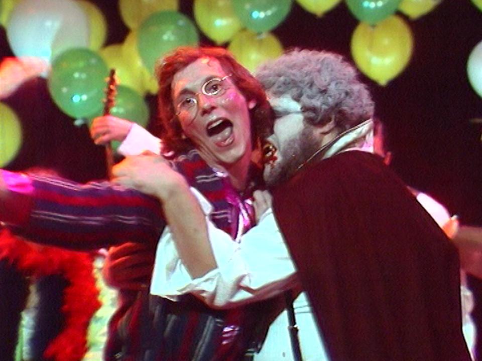 John Cipolata victime de Dracula, 1981. [RTS]