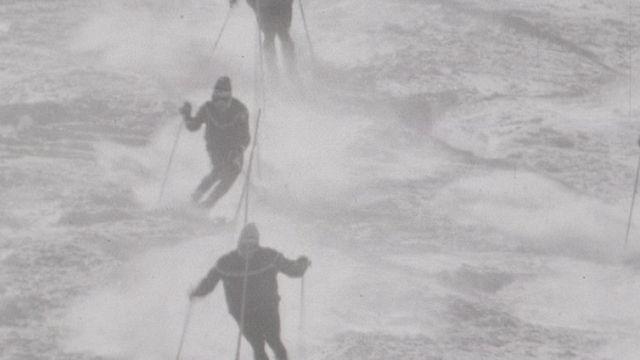 Entraînement de ski de l'équipe de Suisse masculine [RTS]
