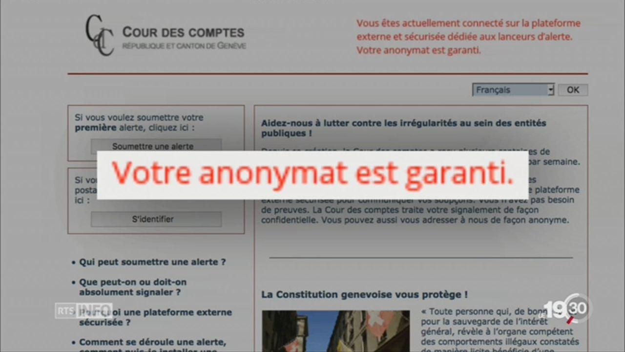 La cour des comptes de Genève tend la main aux lanceurs d'alerte [RTS]