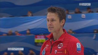 Championnats d'Europe, tour préliminaire messieurs: Norvège - Russie  11-3 [RTS]