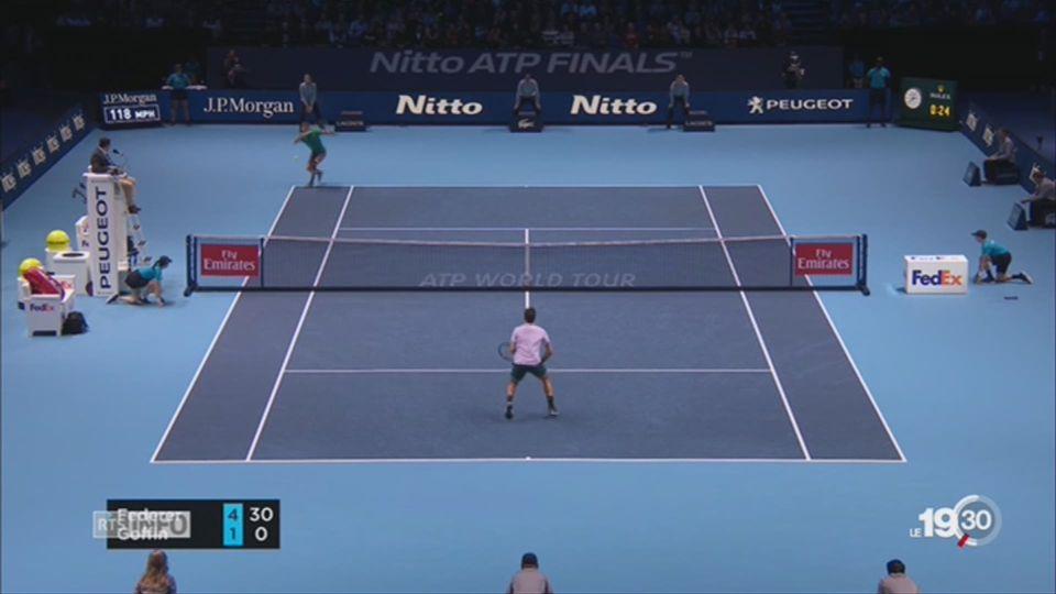 Master de Londres, le héro Federer trébuche [RTS]