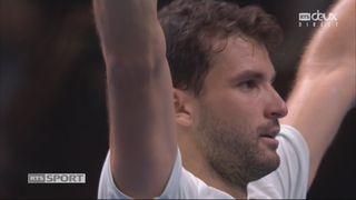 Demi-finale: G. Dimitrov (BUL) bat J. Sock (USA) 4-6 6-0 6-3 [RTS]