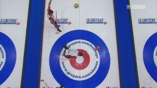 Championnats d'Europe, tour préliminaire messieurs: Allemagne - Suisse 4-9 [RTS]