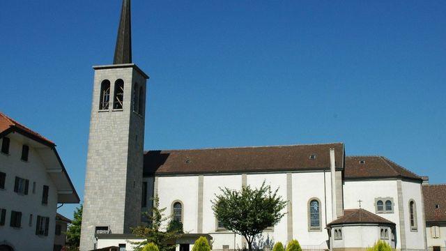 L'église catholique d'Echallens. [cath-vd.ch]