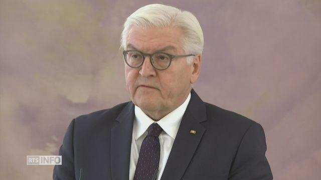 Le président allemand en appelle à la responsabilité des partis pour former un gouvernement [RTS]
