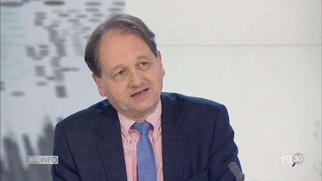 Crise politique allemande: l'interview de Gilbert Casasus [RTS]