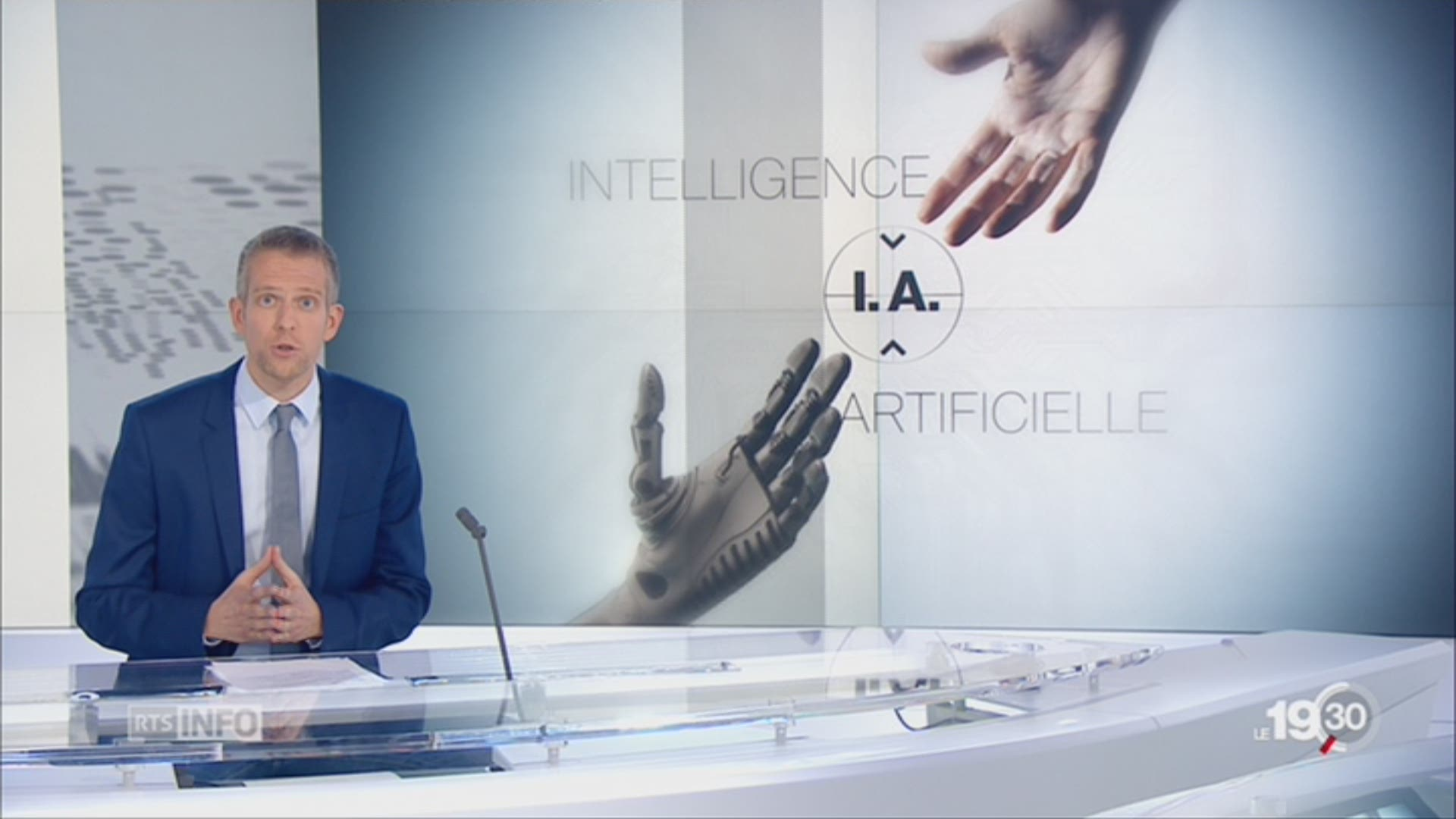 Intelligence artificielle: les explications de Gaspard Kühn (1-2)