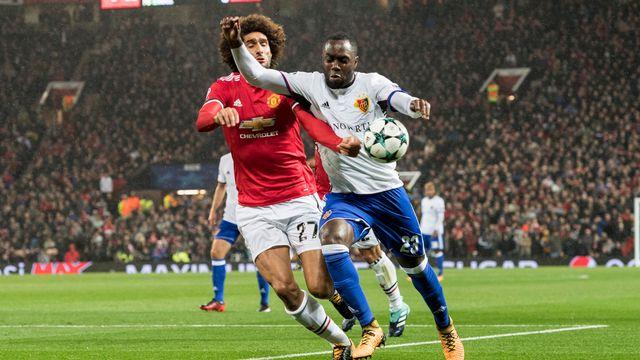 Manchester United - FC Bâle. [Anthony Anex - Keystone]