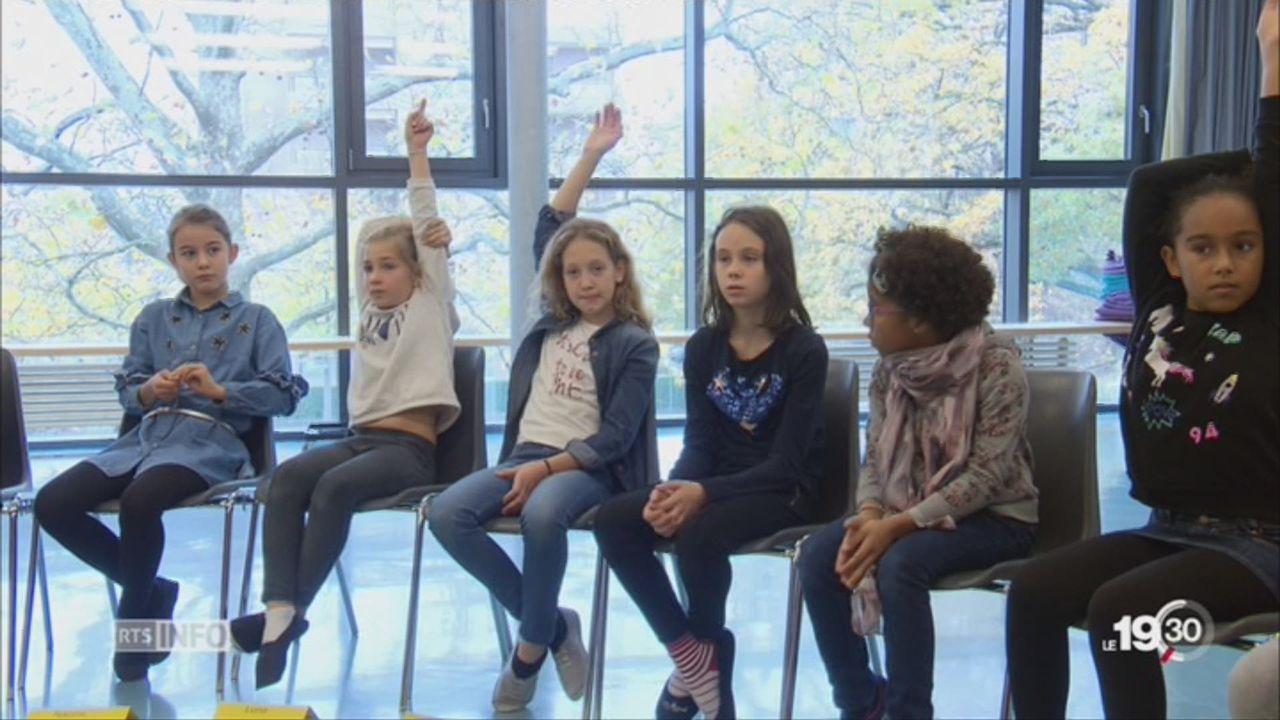 Philosophie: enseignée à des enfants toujours plus jeunes [RTS]