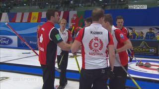 Championnats d'Europe, tour préliminaire messieurs: Suisse - Autriche 8-5 [RTS]