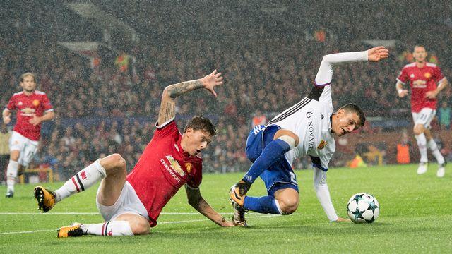 Le FC Bâle reçoit Manchester United pour la 5e journée de la phase de poules de la League des Champions.  [Anthony Anex - Keystone]