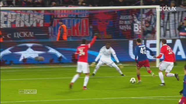 Ligue des Champions, Gr. A, CSKA Moscou - Benfica (2-0): le résumé du match [RTS]