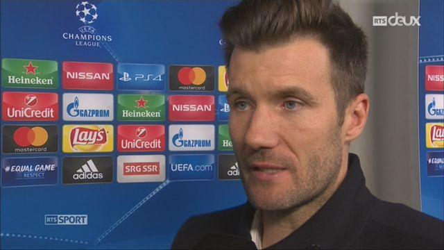 Ligue des Champions, Gr. A, FC Bâle - Manchester United (1-0): Raphaël Wicky au micro de RTSsport après la victoire de son équipe [RTS]