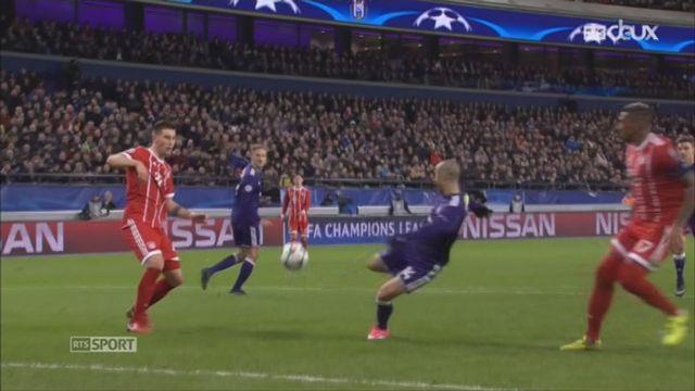 Ligue des Champions, Gr.B, Anderlecht - Bayern Munich (1-2): le résumé du match [RTS]
