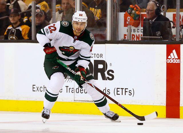 Niederreiter a dépassé un certain Mark Streit avec 101 buts inscrits en NHL. [Winslow Townson - Keystone]