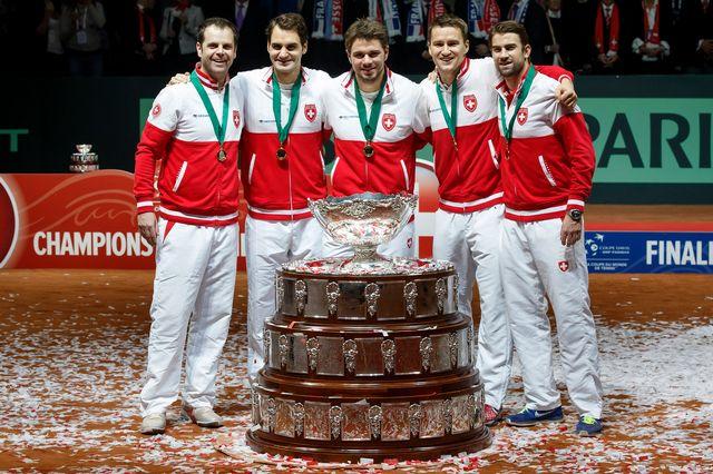 Une journée historique pour le sport suisse. [Salvatore Di Nolfi - Keystone]