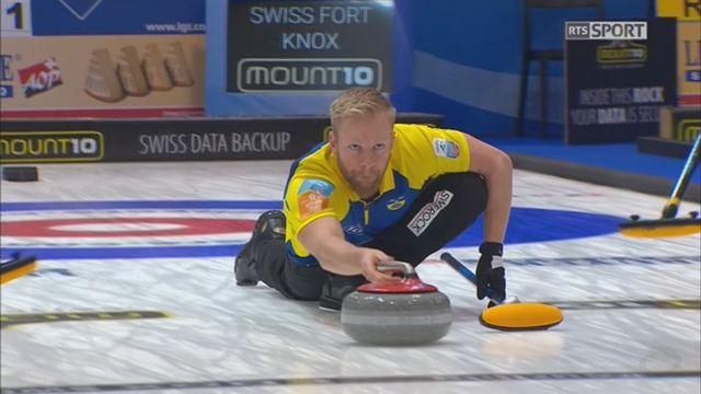 Championnats d'Europe, tour préliminaire messieurs: Suède - Suisse 8-2 [RTS]