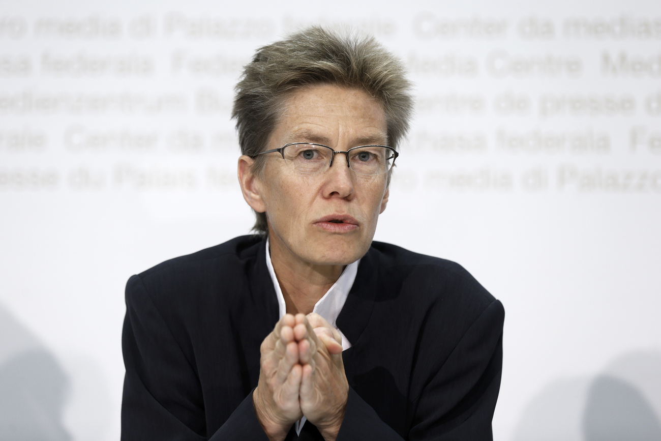 Astrid Epiney, rectrice de l'Université de Fribourg.