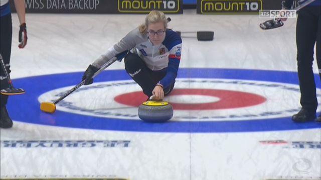 Championnats d'Europe, tour préliminaire dames: Suisse - République Tchèque 5-6 [RTS]