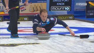 Championnats d'Europe, ½ finale messieurs: Suisse – Ecosse 8-9, l'Ecosse prive la Suisse de finale à domicile [RTS]