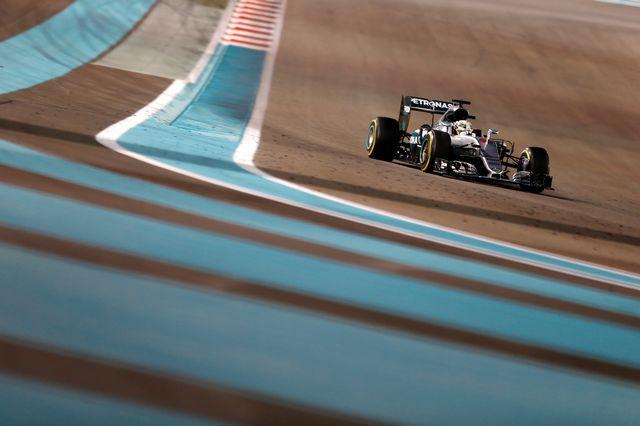 Lewis Hamilton au Grand Prix d'Abou Dhabi 2016. [Hamad I Mohammed - Reuters]
