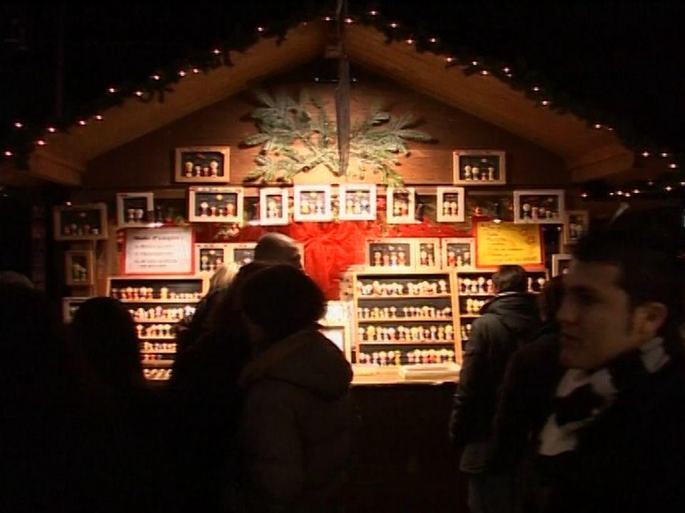 Le Marché de Noël de Montreux. [RTS]