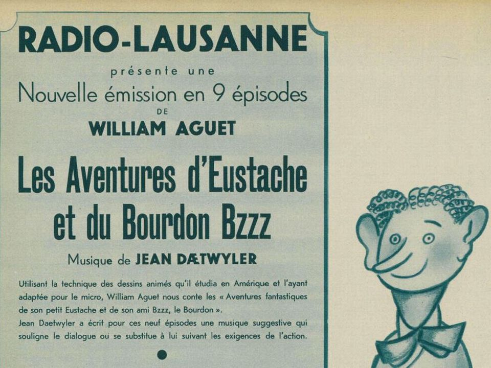 Les aventures d'Eustache et du bourdon Bzzz en 1942