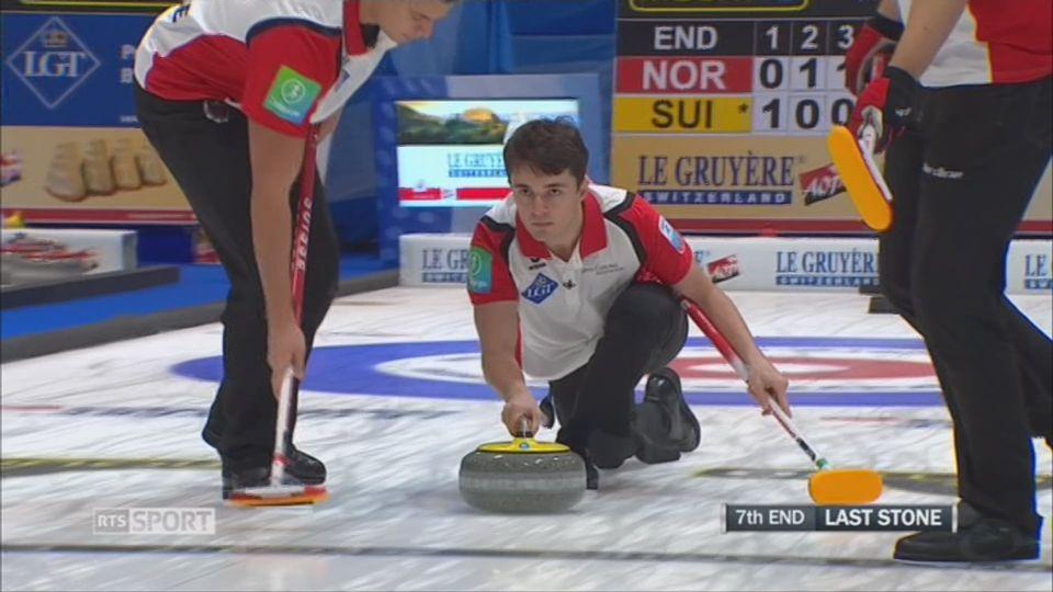 Curling- Européens: les Suisses terminent en bronze, les Suissesses sont 4èmes [RTS]