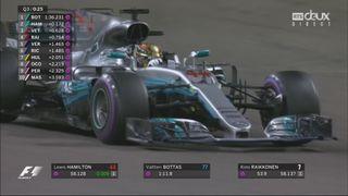 Q3: Bottas (FIN) signe le meilleur chrono devant Hamilton (GBR) et Vettel (GER) [RTS]
