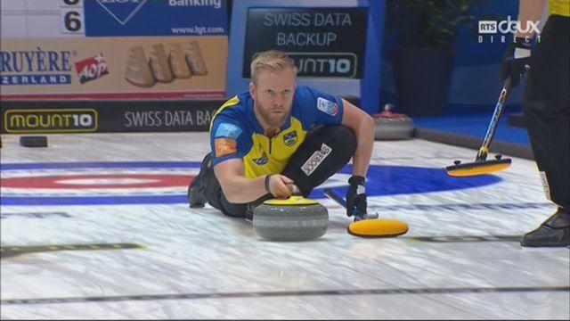 Championnats d'Europe, finale messieurs: Suède – Ecosse 10-5: 4e titre consécutif pour les Suédois [RTS]