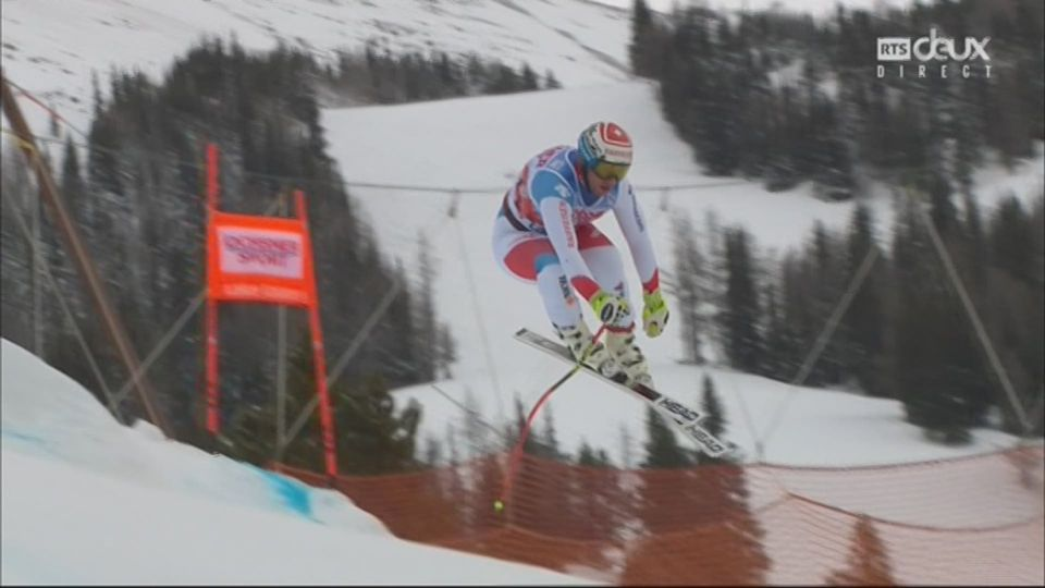 Lake Louise (CAN), descente: Beat Feuz (SUI) [RTS]