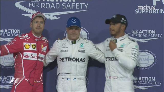 F1-GP d'Abu Dhabi: Valtteri Bottas a signé la pole position devant Lewis Hamilton [RTS]